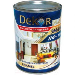 Эмаль Dekor ПФ-115