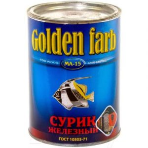 Сурик Golden Farb МА-15 ГОСТ