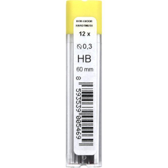 Набор грифелей для карандаша Koh-i-Noor 4132/HB