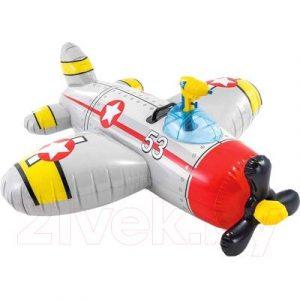 Надувная игрушка для плавания Intex Самолет / 57537NP