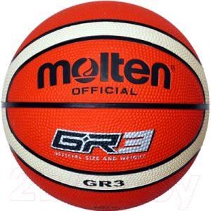 Баскетбольный мяч Molten BGR3-OI