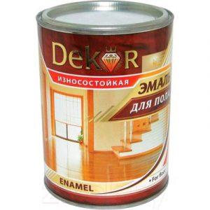 Эмаль Dekor Для пола