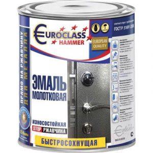 Эмаль Euroclass Молотковая