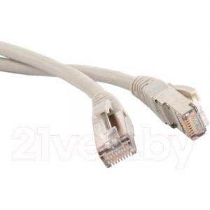 Кабель Lanmaster LAN-PC45/S6A-0.5-GY