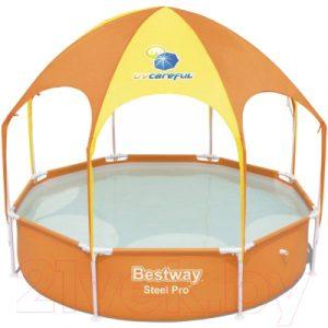 Каркасный бассейн Bestway Steel Pro UV Careful 56432