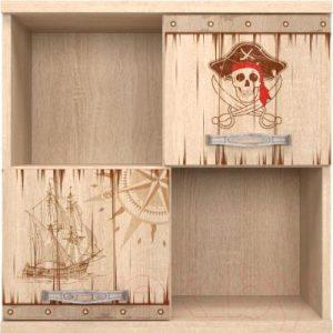 Шкаф навесной Ижмебель Квест 10
