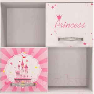 Шкаф навесной Ижмебель Принцесса 10