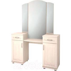 Туалетный столик с зеркалом Ижмебель Ника-Люкс 15Р