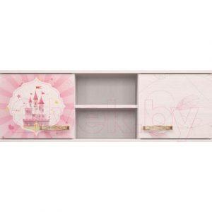 Шкаф навесной Ижмебель Принцесса 17