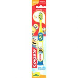 Зубная щетка для новорожденных Colgate Миньоны для детей 2+