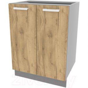 Шкаф-стол кухонный Интерлиния Компо НШ60р-2дв