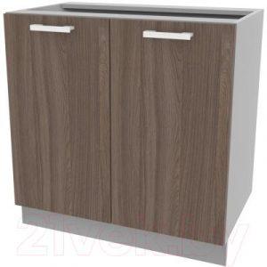 Шкаф-стол кухонный Интерлиния Компо НШ80р-2дв