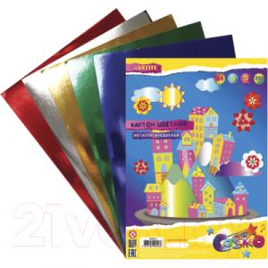 Набор цветного картона deVente 8040513
