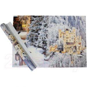 Набор пленки для оформления подарков Vista Снежный замок 90мкм