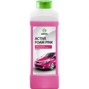 Автошампунь Grass Active Foam Pink / 113120