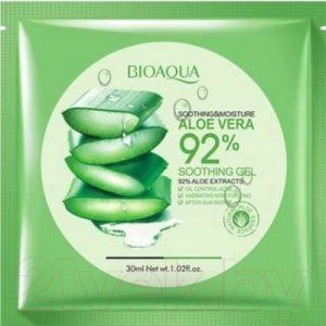 Маска для лица тканевая Bioaqua Aloe Vera увлажняющая