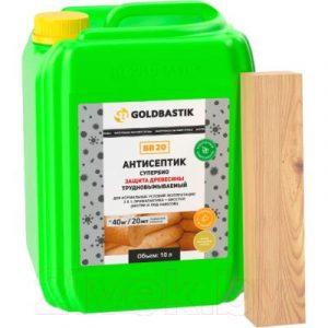 Антисептик для древесины Goldbastik Супербио / BB 20