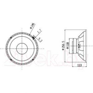Динамик для профессиональной акустики Biema BML-T1001