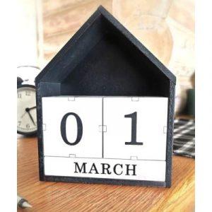 Вечный календарь Grifeldecor Шведский домик / BZ202-22B294