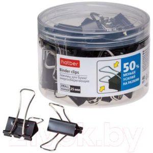 Зажим для бумаги Hatber Energy Save / BC_059125