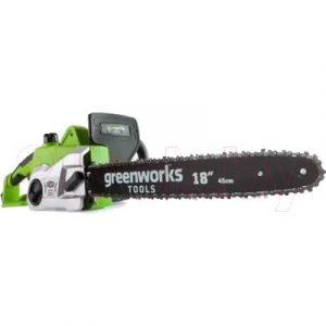Электропила цепная Greenworks GCS2046