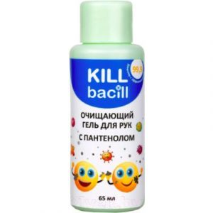 Антисептик для рук Kill Bacill С пантенолом