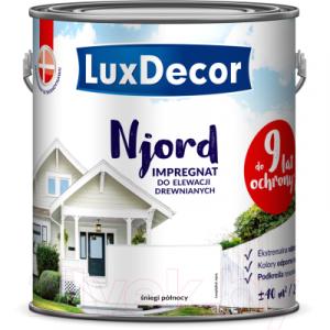 Антисептик для древесины LuxDecor Njord Полярный снег