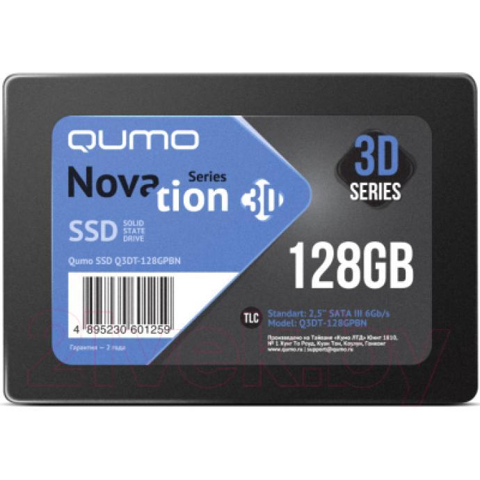 SSD диск Qumo Novation MLC 3D 128GB (Q3DT-128GPBN)