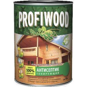 Антисептик для древесины Profiwood Тонирующий