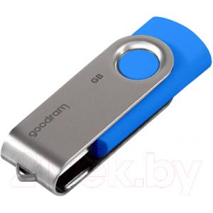 Usb flash накопитель Goodram Twister UTS2 64GB Blue (UTS2-0640NBBBX)