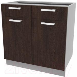 Шкаф-стол кухонный Интерлиния Компо НШ80рш2