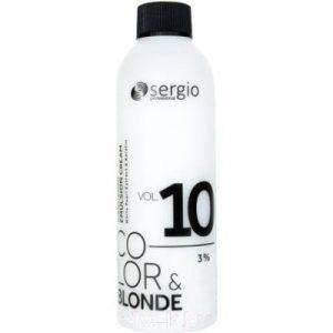 Эмульсия для окисления краски Sergio Professional Color&Blonde 10Vol. 3%