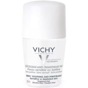 Антиперспирант шариковый Vichy Deodorants для чувствительной кожи 48ч