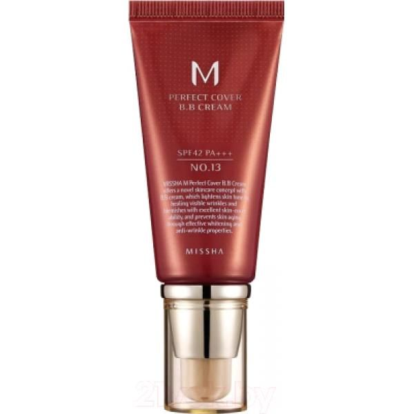 BB-крем Missha M Perfect Cover SPF42/PA+++ No.13