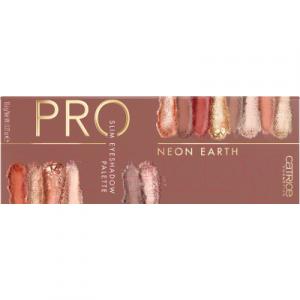 Палетка теней для век Catrice Pro Neon Earth Slim Eyeshadow Palette тон 010