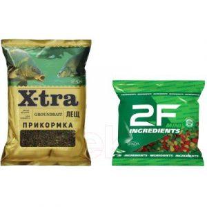 Набор для прикормки 2F X-tra Прикормка лещ черный 4.5кг / 51130-21